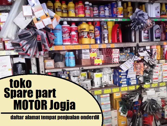 Toko Spare Part Motor Jogja Sleman