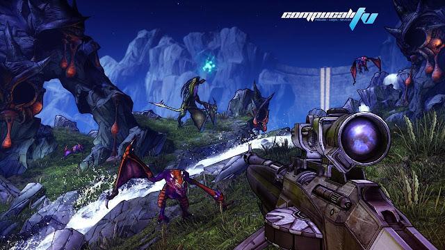 Borderlands 2 Xbox 360 Español Region Free Descargar 2012 DVD9