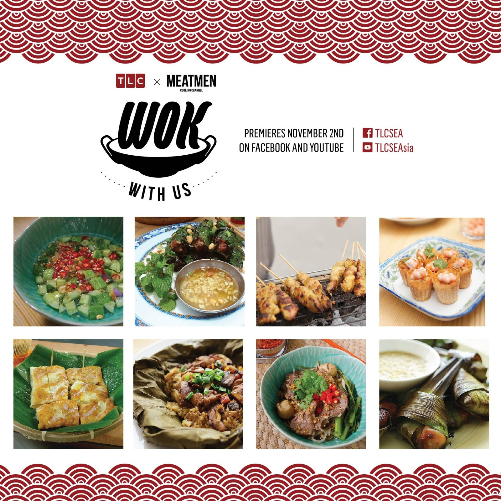 Wok with us to bring us the best of southeast asian food thehiveia asia to find out the mystery man behind the 24 episode series which is set to premiere online on tlcs facebook and youtube pages on 2 november 2016 forumfinder Images