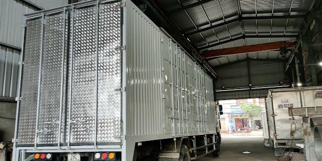 Đóng thùng Panet chở cấu kiện điện tử