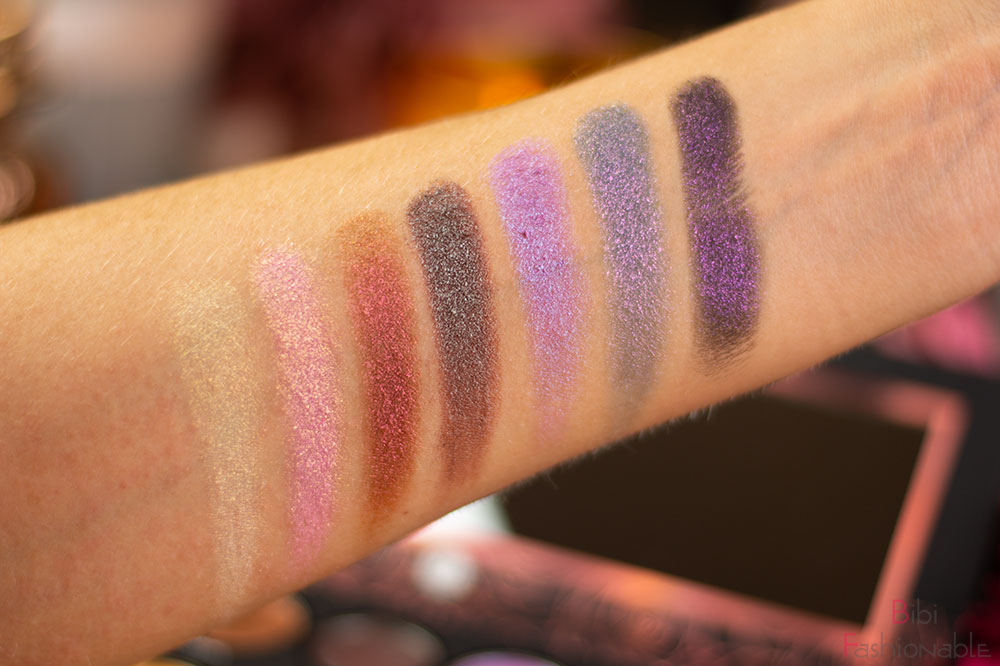 bh-cosmetics-x-Alycia-Marie-1991-Shadow-Palette-Swatches-duochrome-Farben
