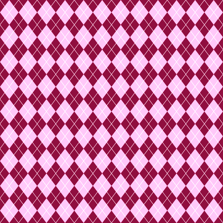 Cute Scrapbook Paper Patterns Argyle shown here in maroon