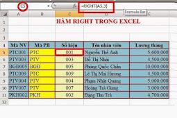 Các hàm xử lý chuỗi trong Excel: Left(), Right(), Mid(), Len()