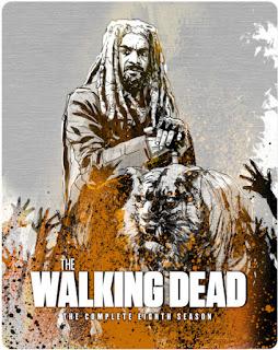 The Walking Dead Season 8 Blu-Ray Steelbook Pre-Orders Available