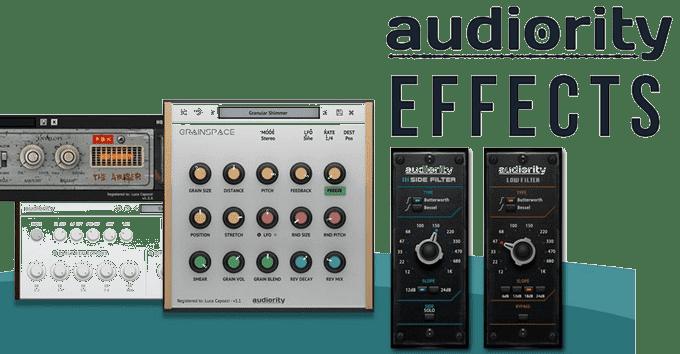 Audiority Effects Plugin Bundle 2019 Full version