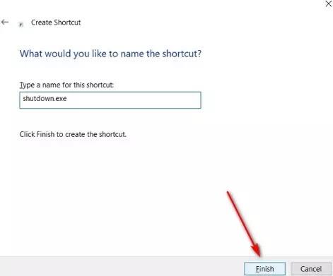 Cara Shutdown Otomatis di Windows 10-6