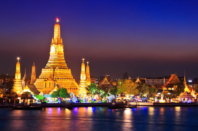 Wat Arun Bangkok at Night