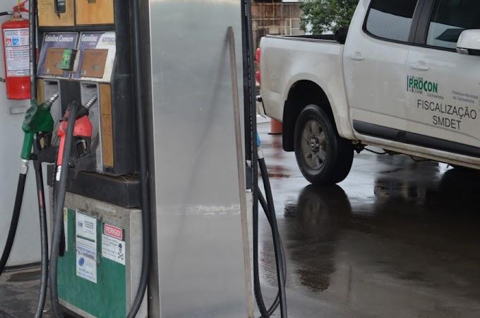 Procon de Cachoeirinha realiza fiscalização nos postos de combustíveis