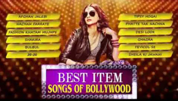 Best Bollywood Item Song