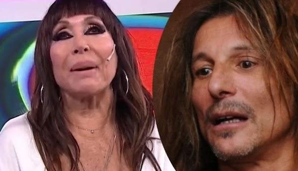 Claudio Caniggia le dijo ''travesti'' a Moria Casán y ella le contestó sin filtro: ''¡Le tiran las...!''