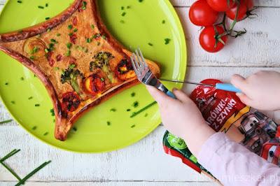 omlet na slono