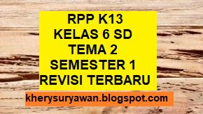 Rpp 1 Lembar Kelas 6 Sd Tema 2 Lengkap Revisi Terbaru Kherysuryawan Id
