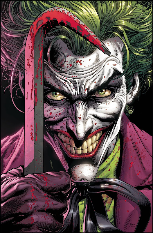 Cover of Batman: Three Jokers #1