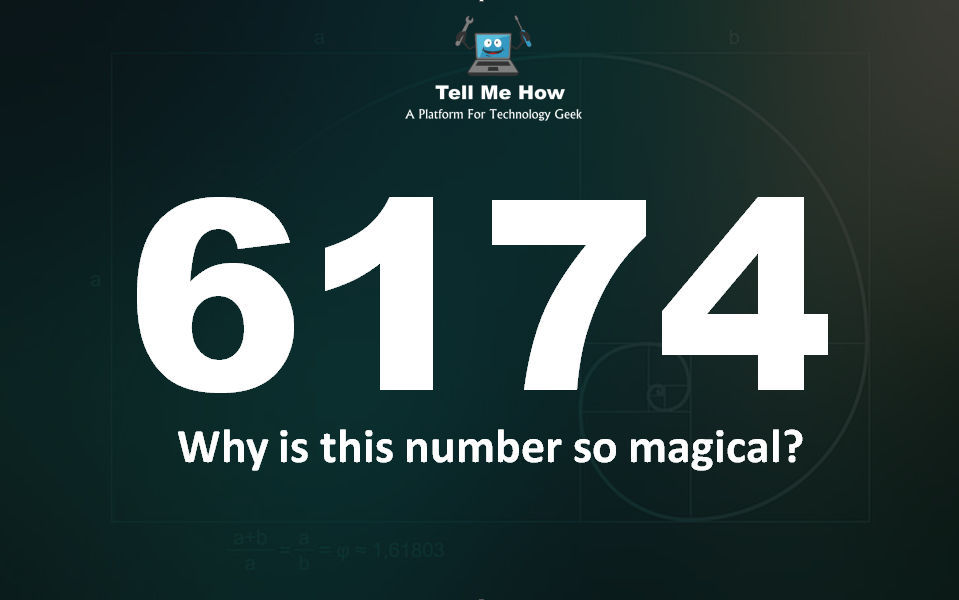 Mind Twister: Why 6174 is magical number?