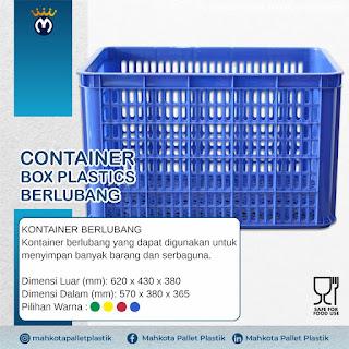 Jual Container Box Plastik: Ukuran dan Spesifikasi