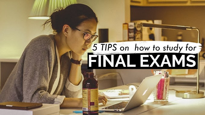 HOW TO STUDY FOR FINAL EXAMS: 5 Tips!