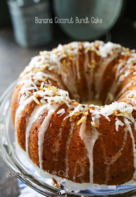 banana coconut bundt cake recipe