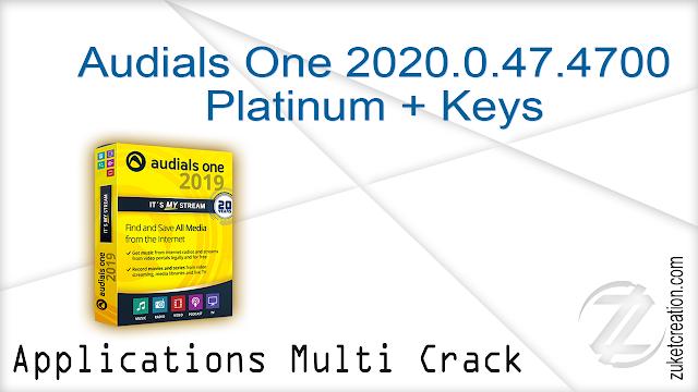 Audials One 2020.0.47.4700 Platinum + Keys