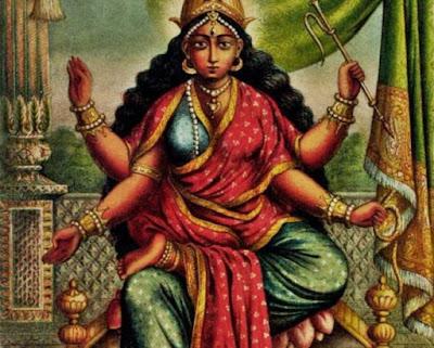 Bhuvaneshwari Mantra, Bhuvaneshwari Stotra