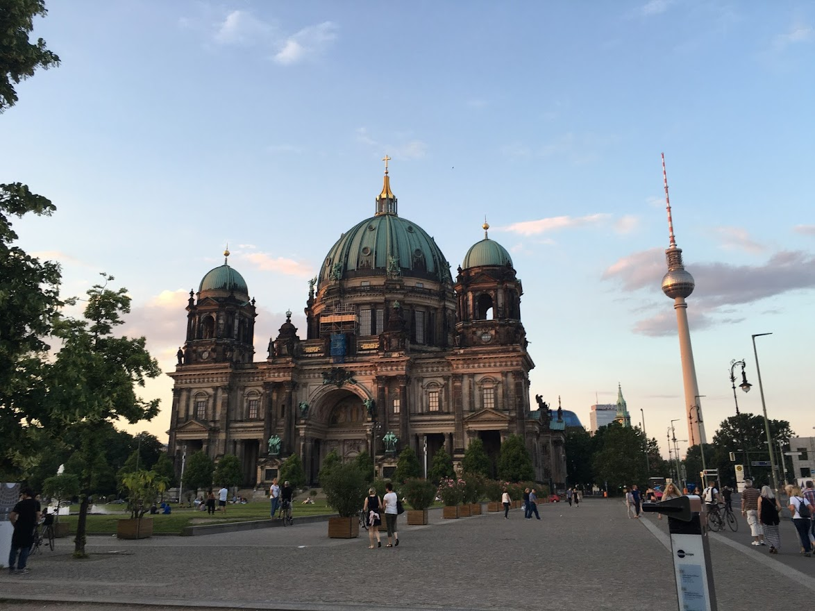Berliner Dome. The Cathedral of Berlin, Germany