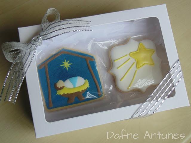 biscoito Jesus e estrela