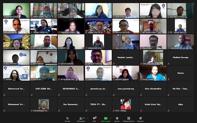 Online Regional Program Enhanced Participants' Aptitude in Developing Context-Based Vocational Pedagogy