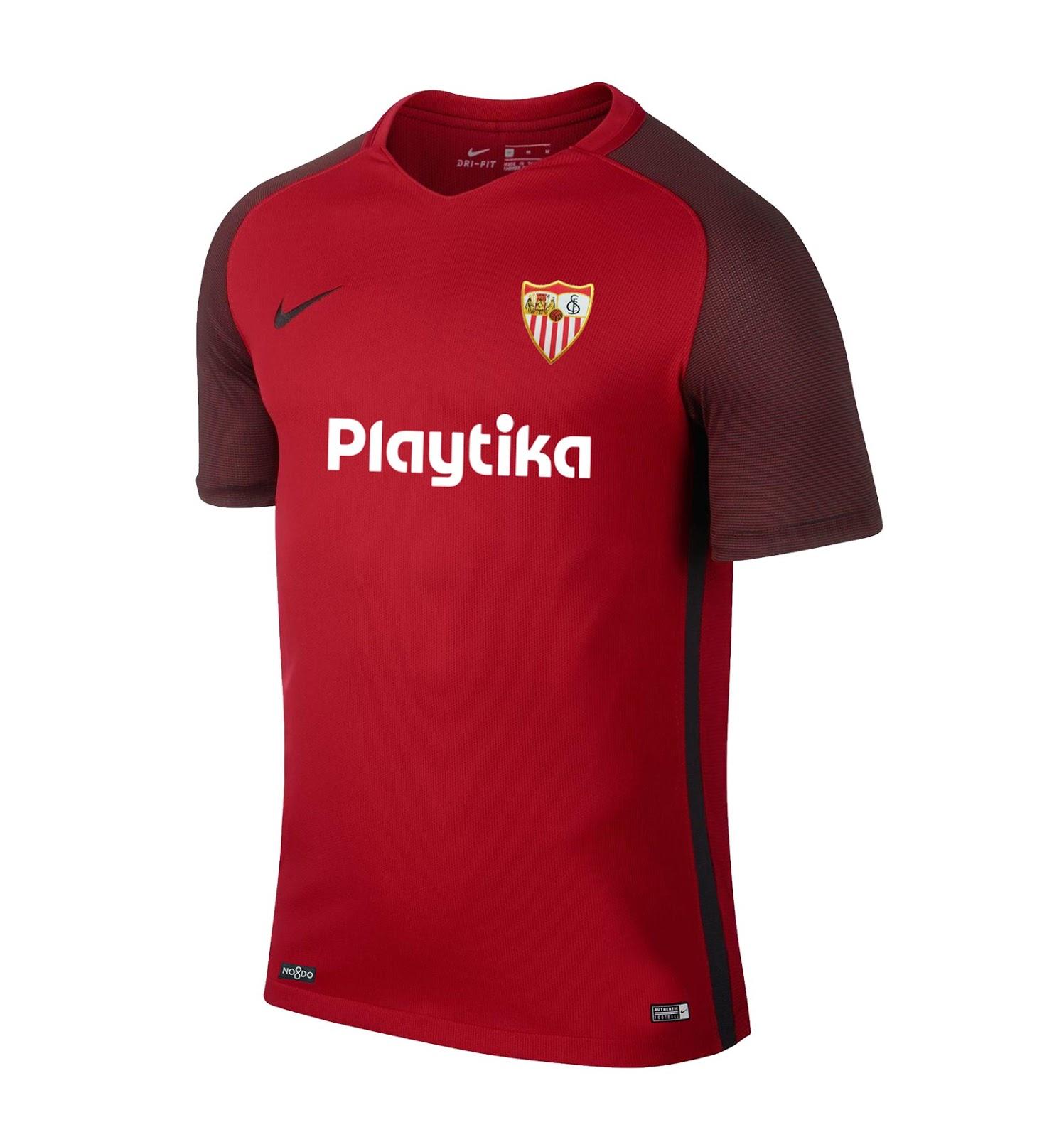 Las calzonas del Sevilla FC para la primera equipación son blancas y las  medias negras. Como siempre. 3a92a6a041db8