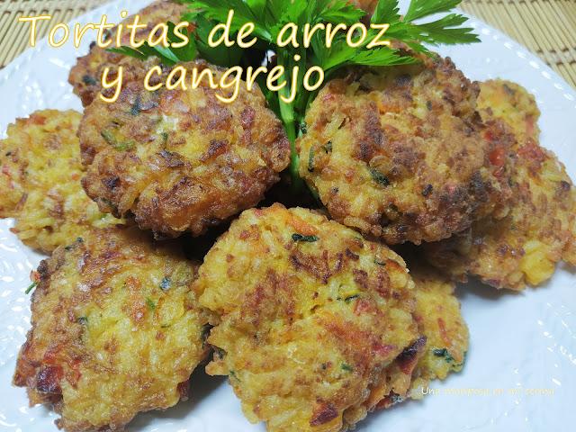 Tortitas De Arroz Y Cangrejo