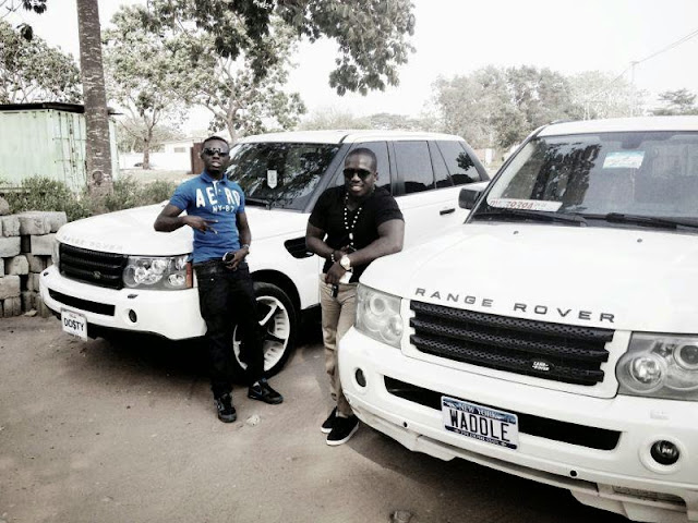 Young Rich Ghanaians And Their Big Cars