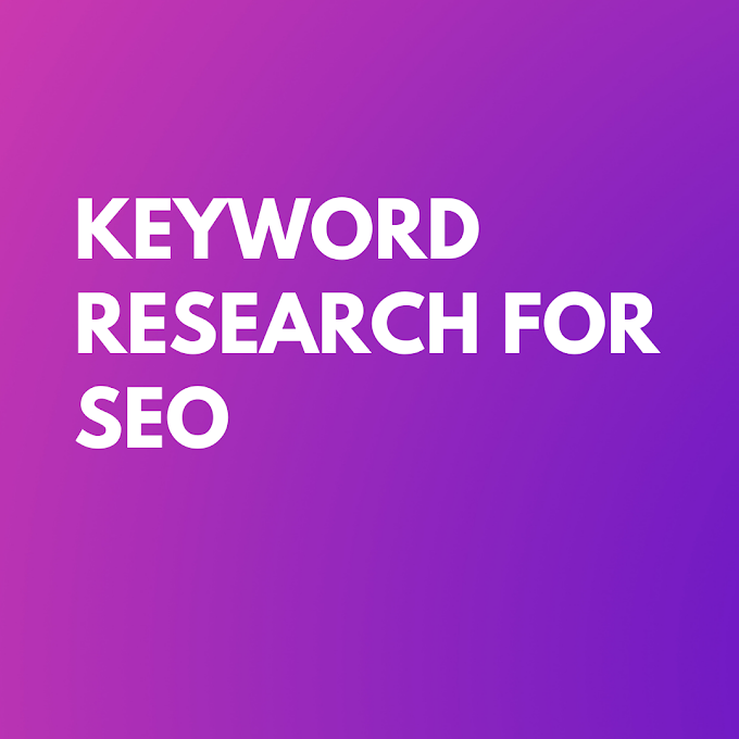 Keyword Research for SEO step by step in (JNNC Technologies Pvt.Ltd)