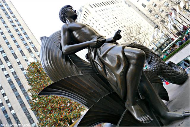 Navidad en el Rockefeller Center, Nueva York