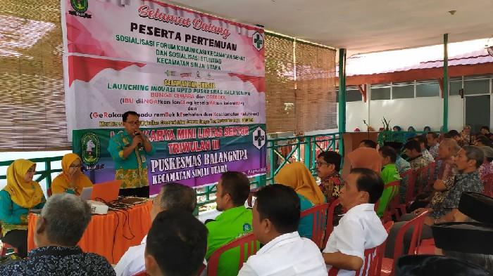 Puskesmas Balangnipa Launching Inovasi 'Bunga Cemara' dan Grebek