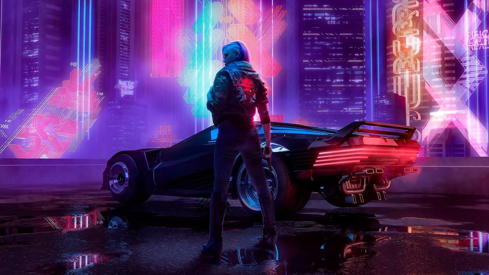 Cyberpunk 2077 Wallpaper for Desktop