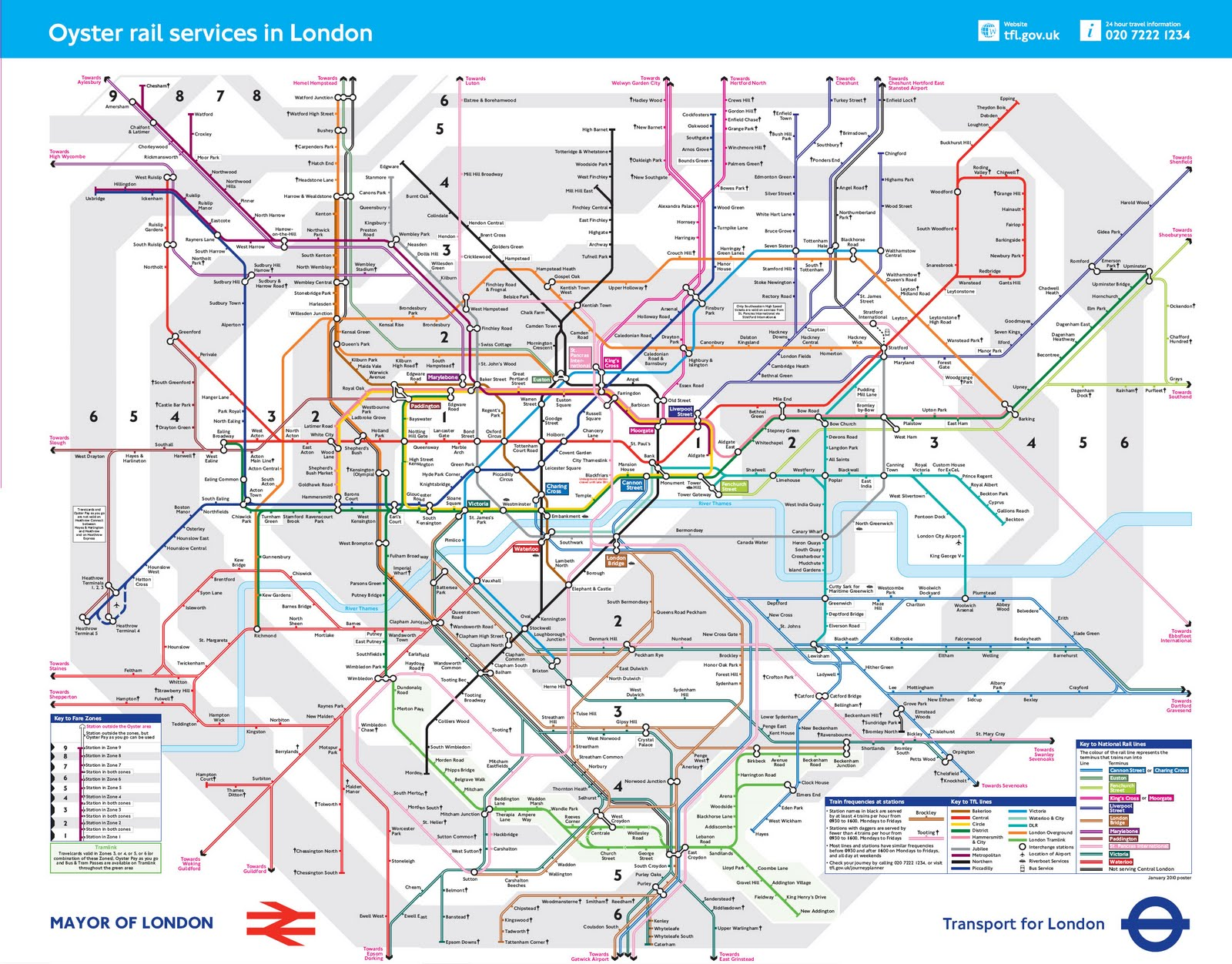 map london train