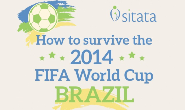 Image: How to Survive the 2014 FIFA World Cup Brazil #infographic
