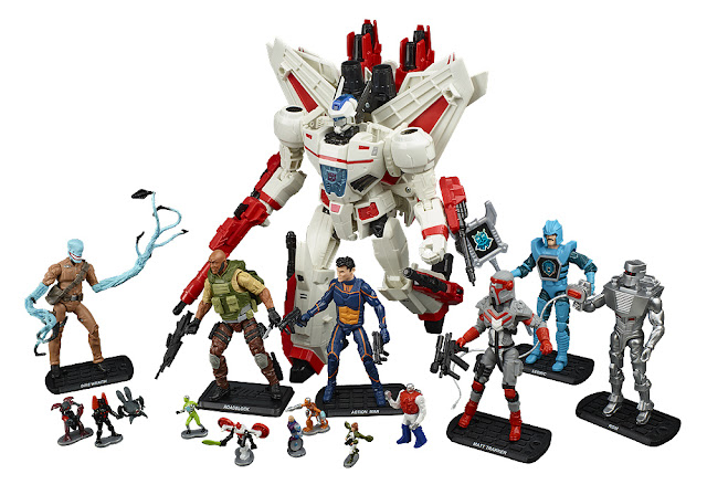 SDCC 2017 Hasbro Exclusive REVOLUTION Comic Crossover Preview Mega-Set