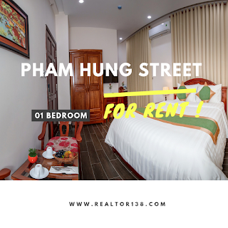 Căn hộ dịch vụ đường Phạm Hùng xã Phước Lộc huyện Nhà Bè