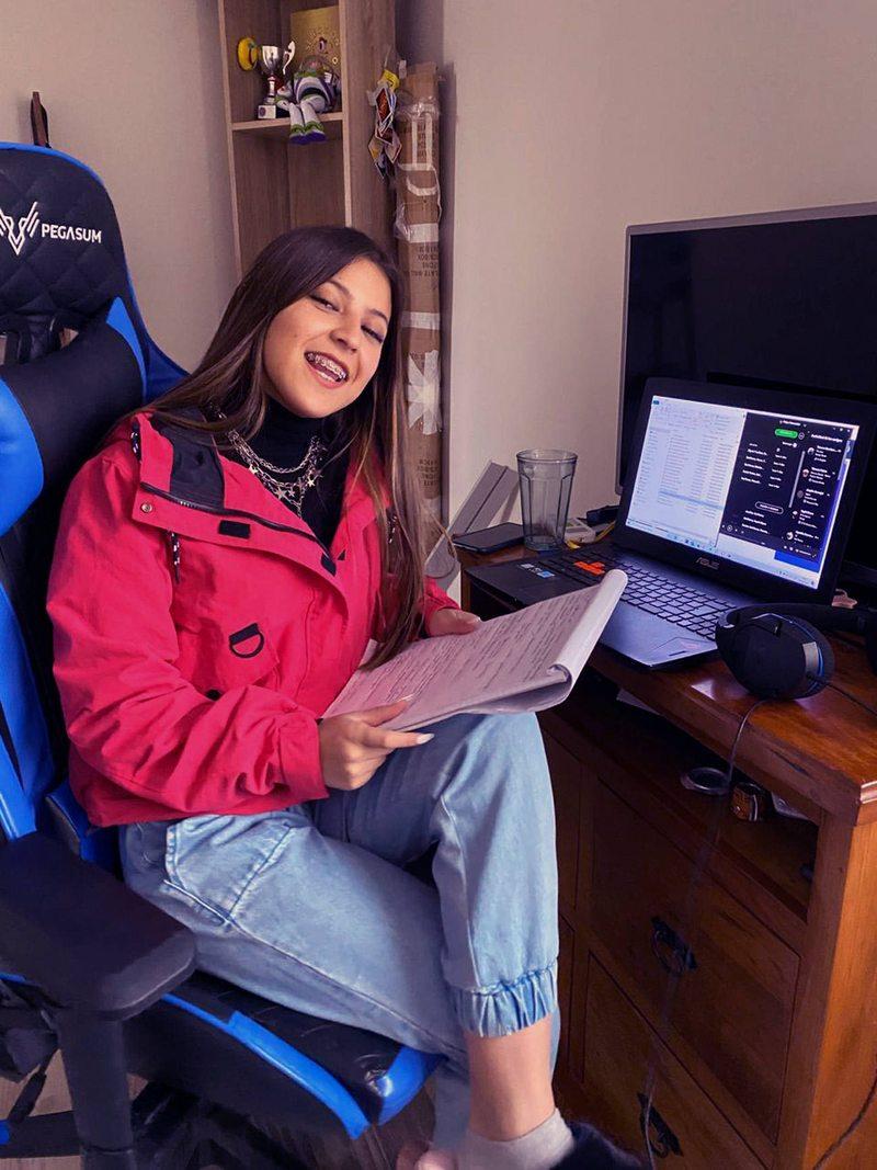 Ignacia Antonia tomó curso online de dirección de arte