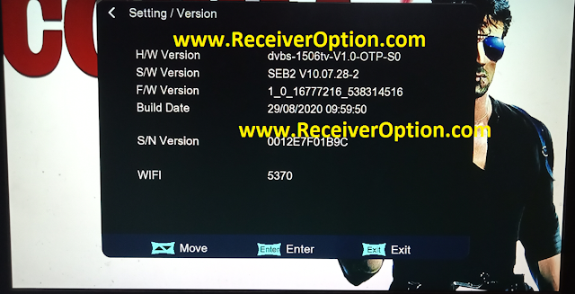 1506TV 512 4M NEW SOFTWARE WITH G SHARE PLUS & COBRA IPTV OPTION