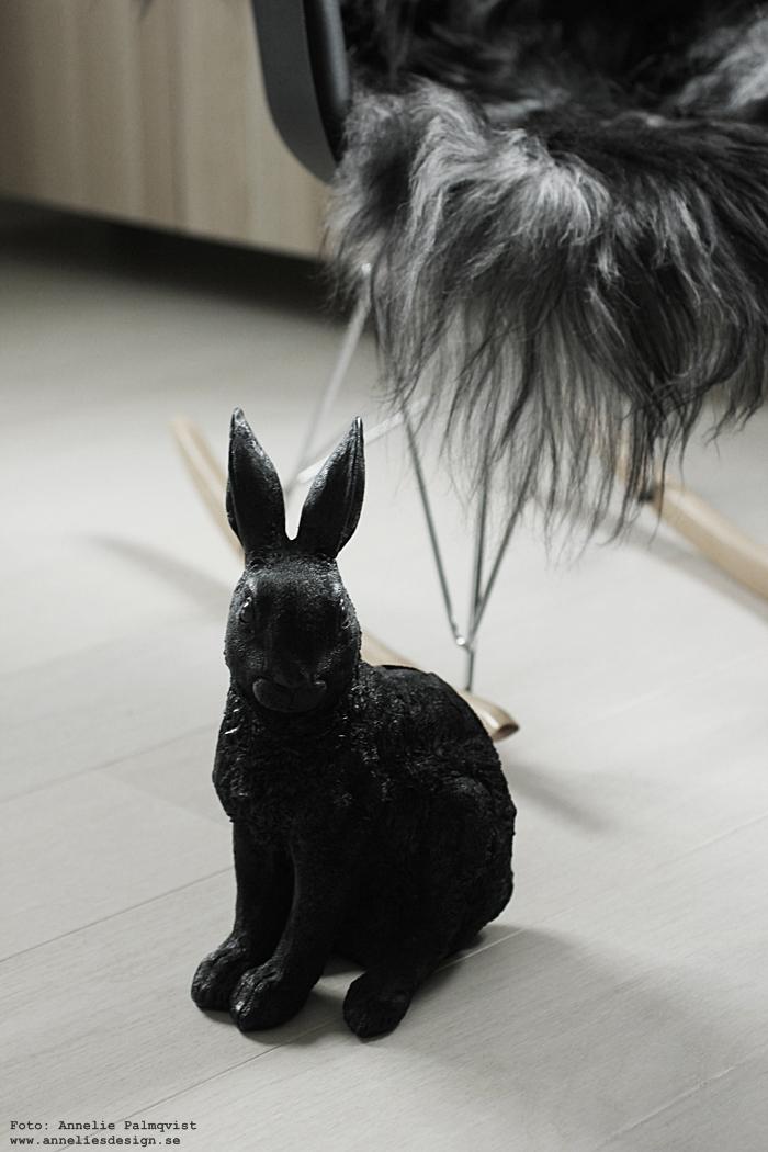 annelies design, webbutik, webshop, nätbutik, nettbutikk, inredning, fårskinn, skinn, fäll, fällar, isländska långhåriga fårskinn, the organic sheepskin, natural grey, naturligt gråa, gråa, svarta, vitt, gungstol, stol, kanin, kaniner, sparbössa, sparbössor, dekoration, presenttips,