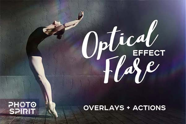 Optical Flare Overlay Effects Pack