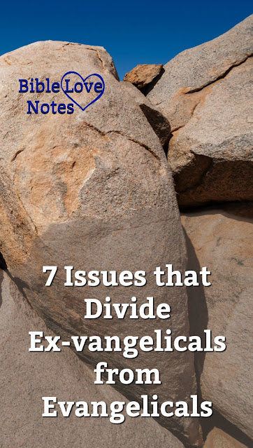 A number of well-known speakers and teachers are criticizing and rejecting biblical faith in favor of these 7 ex-vangelical teachings.