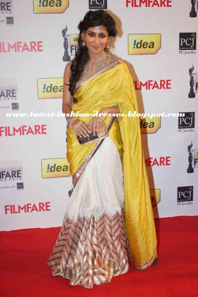 GOLD PRINTED SAREE