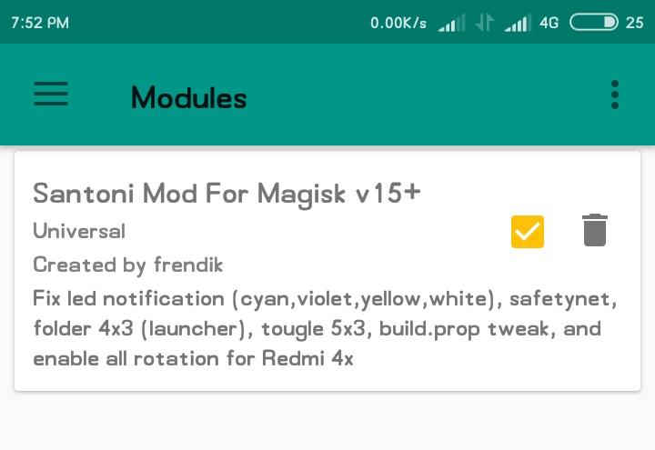 Magisk Santoni Mod Support All Miui 9 Rom