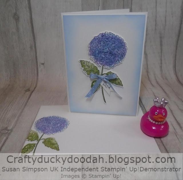 Craftyduckydoodah, Hydrangea Haven, Stampin' Up, Ink Stamp Share, Spring/Summer 2021