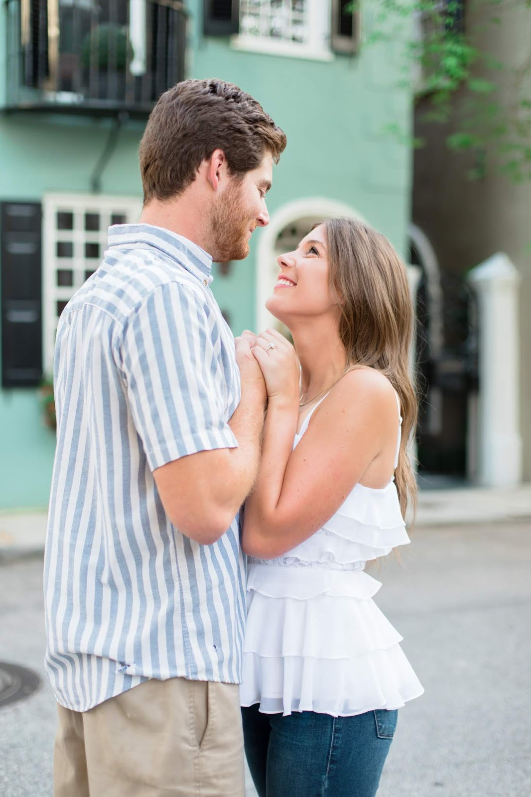 Our Downtown Charleston Engagement Photoshoot - Chasing Cinderella
