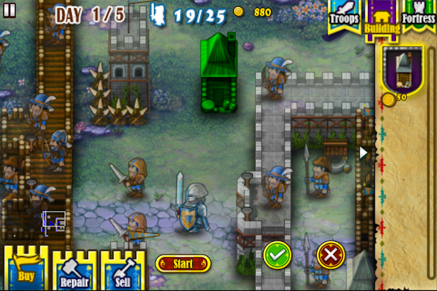 Screenshot Fortress Under Siege HD - Apcoid