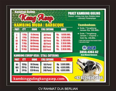 Paket Kambing Guling Terlengkap di Lembang