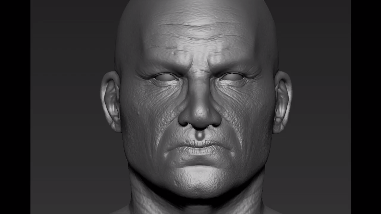 Making a Realistic Head with ZBrush and 3ds Max   CG TUTORIAL