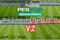 Real Scoreboard V2 (Server Version) - PES 2021